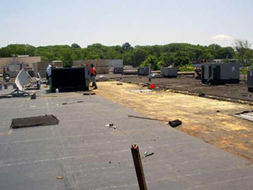 E.P.D.M. roofing system, New Century Roofing, commercial and industrial roofing in New England
