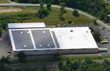 re-roof project, commercial roofing contractor MA RI and NH