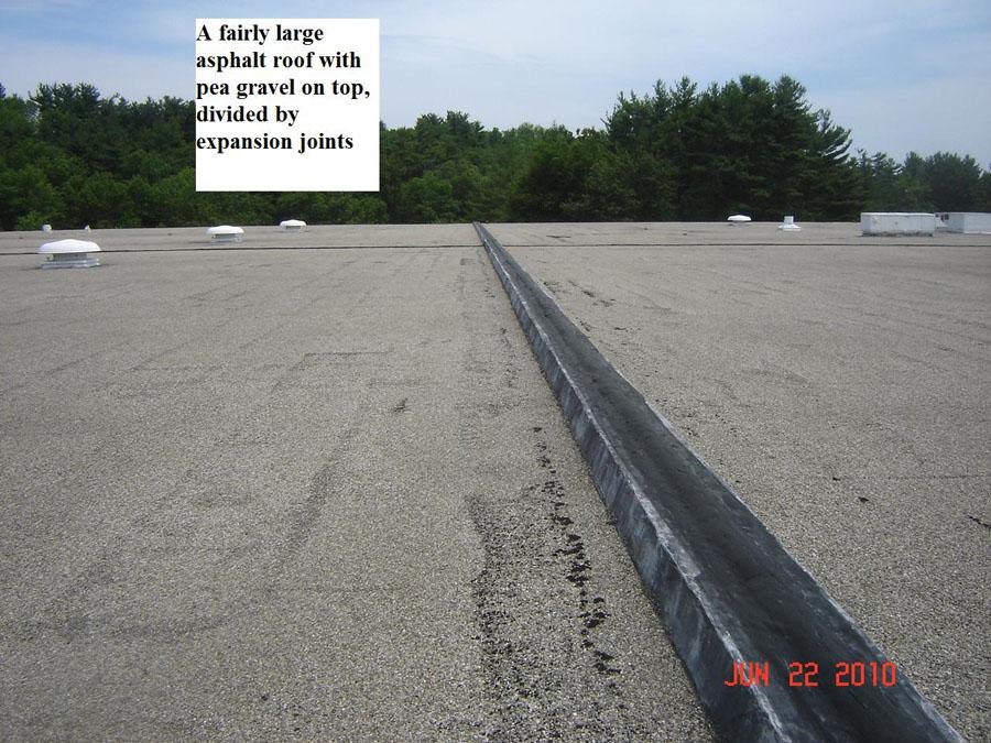 Asphalt Gravel Roof Example