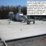 Durolast and Built up roofing material - example
