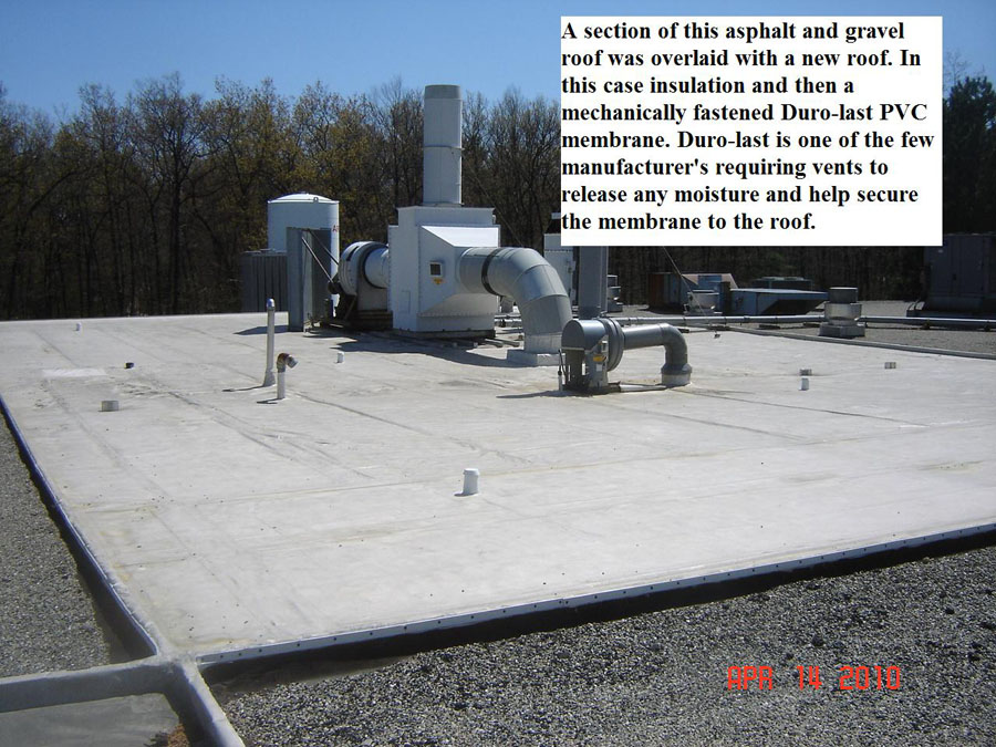 Durolast And Built Up Roofing Material   Example