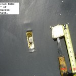 """Reinforced EPDM roof with 2"""" of isocyanurate insulation - example"""