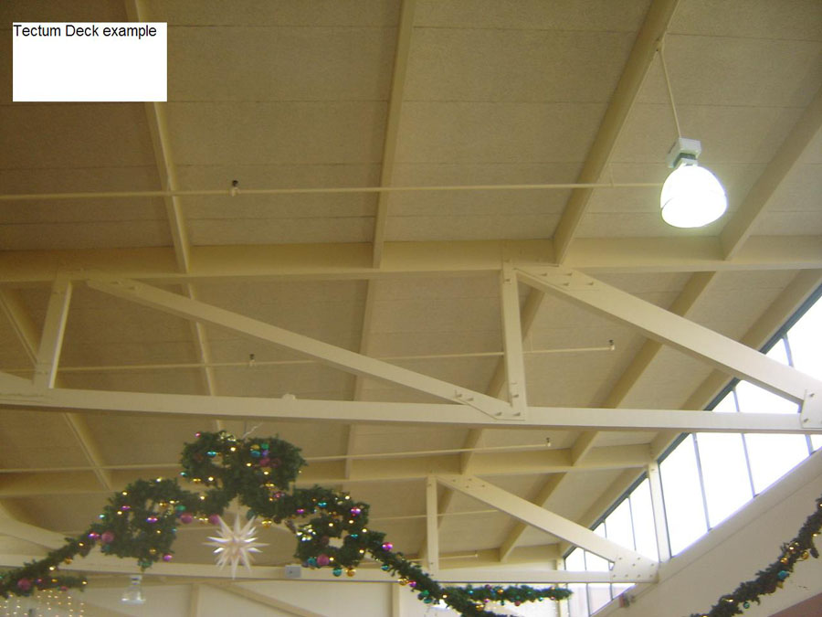 Tectum Roof Decks New Century Roofing