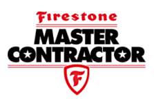 Firestone master contractor, commercial and industrial roofing